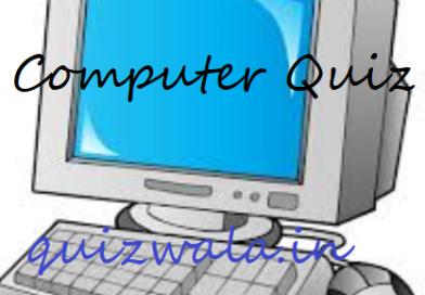 Computer Quiz No 1